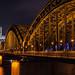 Kölner Dom Hohenzollernbrücke