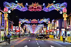 Street decorations in Little India (MGunawan) Tags: deepavali2016 deepavali littleindia singapore southeastasia festival nikond610 nikon2470mm