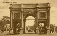 1905 London (Steenvoorde Leen - 2.3 ml views) Tags: londen london 1905 ansichtkaart postkaart postcards postkarte karte card themarblearch great britain gb england