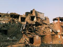 IMG_1170 (Rickard Nilsson) Tags: nepal kathmandu earthquake disaster ruins texture hindu hindi nepalese hinduism