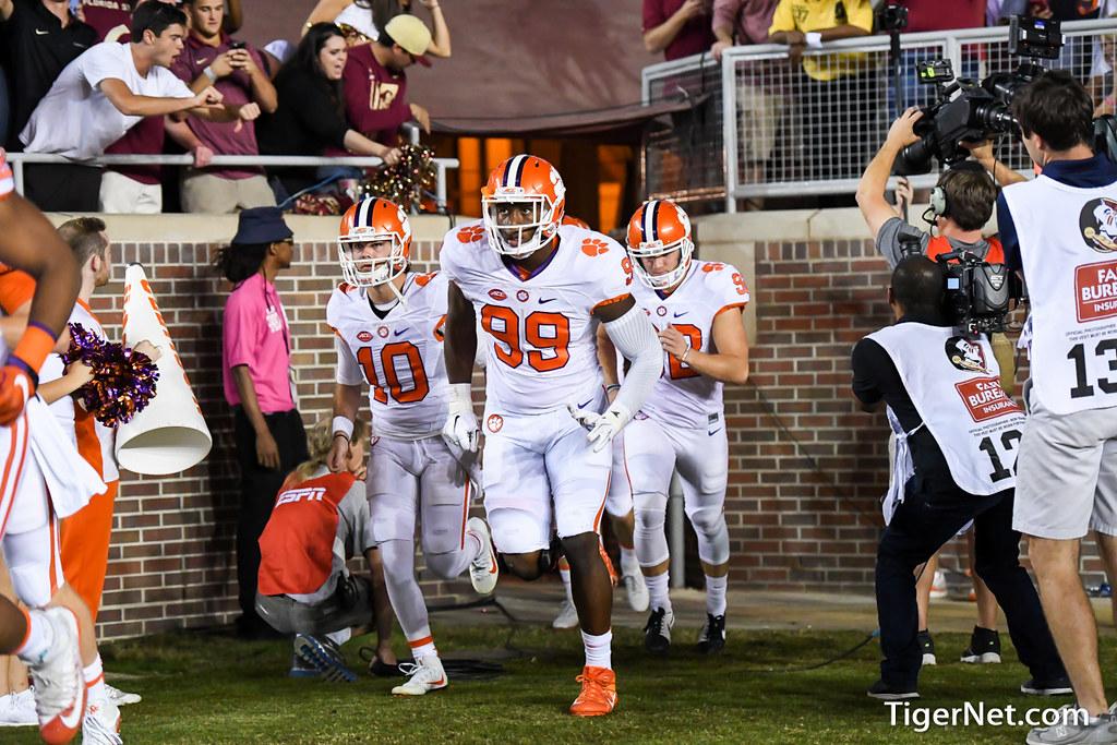 Clemson Photos: Clelin  Ferrell, 2016, Football, Florida  State