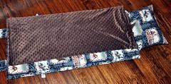 Navy Vintage Cowboy Nap Mat 2 (preciousnprosper) Tags: cowboy ranch vintage napmat horse