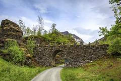 174309_CB_1011 (aud.watson) Tags: europe norway romsdal strada geiranger geirangerfjorden mountains stonebridge bridge
