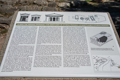 Delphi - Sanctuary of Athena Pronaea Information Notice 2 (Le Monde1) Tags: greece delphi greek sanctuary athena lemonde1 nikon d800e unesco worldheritagesite archaeological site roman ruins gods tholos templeofathena pronaea fluted columns information notice