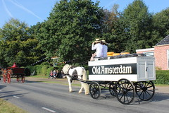 The cheese seller (Davydutchy) Tags: flaeijelfeest flaeijel festival feest dorpsfeest nijhoarne nieuwehorne âldhoarne oudehorne fryslân friesland frisia frise nederland netherlands niederlande paysbas holland country life platteland boer farmer bauer fermier paysan agricultural community hynder horse paard pferd konj hest ĉevalo കുതിര caballo лошадь kůň horsedrawn paardenwagen bespannen wagen wagon cart kar fries friesian frisian