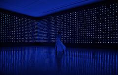 Your Blue Room (OneLifeOnEarth) Tags: onelifeonearth sydney museumofcontemporaryart megadeath tatsuomiyajima basedonasong