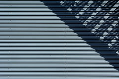 Shadowplay of a stairway (on Explore) (Jan van der Wolf) Tags: map14610v monochrome monochroom composition compositie trap staircase stairway stairs shadow shadows shadowplay lines lijnen lijnenspel playoflines interplayoflines minimalism minimalistic minimalisme minimal abstract