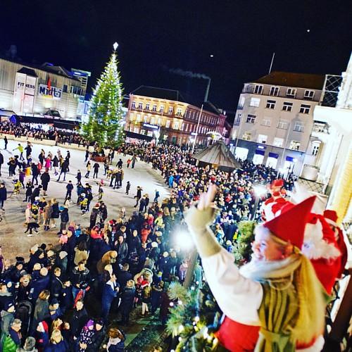 Det begynder at lige jul 🎅 #esbjerg #julemand