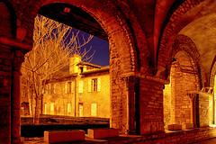 Clotre de l'abbaye de Tournus (jjcordier) Tags: clotre abbaye tournus mdival moyenage bourgogne saneetloire heurebleue