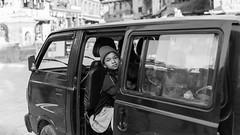 Nepali Kids#2 (Kantashoothailand) Tags: canon 1dx markii ef2470mmf28liiusm kids people bw blackandwhite monochrome bhaktapur centraldevelopmentregion nepal np travelphotography urban streetphotography candid
