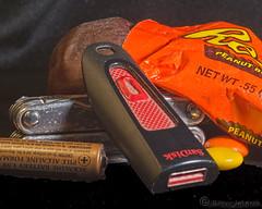 Frustration Relief (Romair) Tags: misceleousstuff reecespeanutbuttercup memorystick leatherman battery rogerjohnson