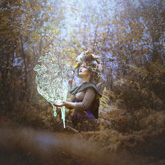 Heart of the Leshy (StephaniePearl ) Tags: heart fantasy magick elf elven lotr conceptual anatomical mushrooms forest woodland flowers floral faerie fairytale storytelling pixie