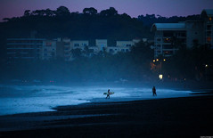 Dusk (JoanZoniga) Tags: jczuniga playajaco sunset dusk afterlight night beach surfers surfer surfing surfphotography surf puravida beachphotography travel traveling sky ocean sea lands landscape jaco jacobeach canon canoneoskissx7 eos100d eoskissx7 eosrebelsl1 eos kissx7 canonphotography photography beachlife centralamerica americacentral
