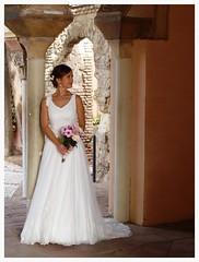photo shoot vintage style   (~Jonbicykle ) Tags: spain hiszpania andaluca alandalus alcazaba mlaga  wedding