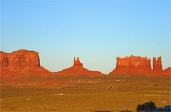 Sacred Land of the Navaho (Herculeus.) Tags: 2016 bouldersstonerocks butte clouds country day erosion fall fromgouldings landscape landscapes mesa monumentvalley nativeamerican navaho navahonation oct outdoor rockoutcrop shadows stratusclouds6kfeet ut vaportrails