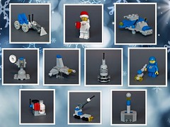 Classic space - TBB create-a-calendar contest (adde51) Tags: adde51 lego moc tbb classic classicspace space minibuilds adventcalendar christmas calendar createacalendar contest