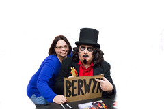 nathalie and svengoolie. november 2016 (timp37) Tags: chicago illinois november 2016 nat nathalie svengoolie pop culture con convention st charles berwyn sign