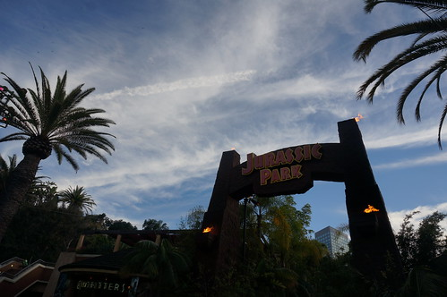 "Dusk over Jurassic Park • <a style=""font-size:0.8em;"" href=""http://www.flickr.com/photos/28558260@N04/20530101981/"" target=""_blank"">View on Flickr</a>"