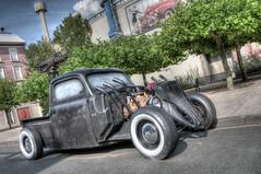 Van Helsing Hot Rod (Wesly van Batenburg) Tags: park hot car germany movie pentax warner rod van bros hdr themepark helsing k5 da1855wr pentaxk5 weslyvanbatenburg