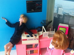 Office Ladies 2 (Anderson's All-Purpose) Tags: dolls 16 arco playset dollfurniture