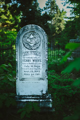 Mary Eveline White (Marty Hogan) Tags: memorial headstone memory keweenawcounty pinegrovecemetery eagleharbormichigan