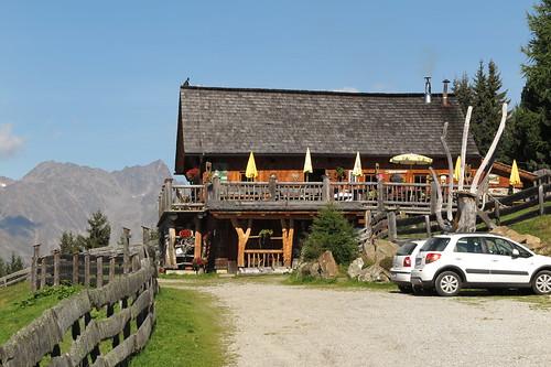Aufstieg Wangenitzseehütte am 12.09.2015