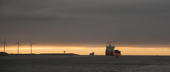 2015-09-12 hoek van Holland-1 (Aschwinn) Tags: sunset haven water netherlands clouds river boot boat zonsondergang rotterdam harbour nederland noordzee wolken northsea hoekvanholland rivier portofrotterdam