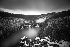 Lakeview (TS446Photo) Tags: world bear park camera longexposure autumn winter sky bw cloud white lake snow black tree ice water club forest landscape mono waterfall spring nikon df day pattern view bare country croatia filter national le zagreb nd 20mm dslr stacked plitvice dynamo 10stop nikon20mm 6stop ts446 16stop nikondf