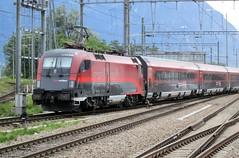 ÓBB 1116 206 Railjet (rommelbouwer) Tags: óbb 1116206 railjet taurus