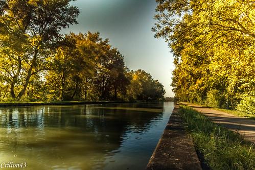 Canal latérale à la Loire