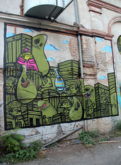 PYC-Ghosts. (universaldilletant) Tags: graffiti frankfurt spot ghosts pyc cityghost cityghosts