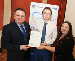 Richard Robinson, Robinsons Catering  at the WorldHost Celebration and Certificate Presentation