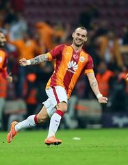 Wesley Sneijder (66) (l3o_) Tags: wesley sneijder galatasaray 10 numara kırmızı football futbol spor sport netherlands ajax real madrid inter galasozlukorg