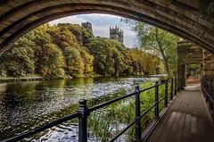 Durham Cathedral, Durham (DM Allan) Tags: autumn river durham wear unesco worldheritagesite durhamcathedral billbryson