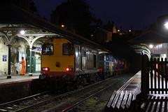 20303 & 20302 Knaresborough station (DieselDude321) Tags: york station europa yorkshire north leeds rail railway loco class 20 knaresborough services direct locomotives locos skipton thrall drs rhtt 20303 20302 3s26 3s25