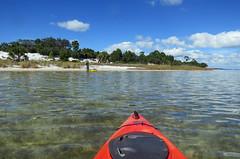 Kayaking, St. Joseph Peninsula State Park, Florida (Hawkfish) Tags: gulfofmexico kayak florida kayaking stjosephpeninsulastatepark stjosephbay floridapanhandle stjoebay canonpowershots100