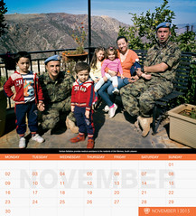 UNIFIL's 2015 Calendar - November (English) (UNIFIL - United Nations Interim Force in Lebanon) Tags: november lebanon calendar serbia un unitednations reachingout 2015 1701 unifil