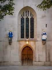 Charity Kids (Rupert Brun) Tags: charity school england london church saint st statue children andrews fuji child unitedkingdom statues andrew holborn figure gb figures guild xt30