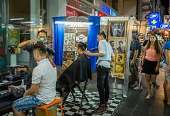 Haircut? (gary_p_p) Tags: haircut bangkok streetphotography bangkokstreet