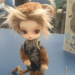 Olivia versão Goku! (MariMahe) Tags: doll olivia dal monomono