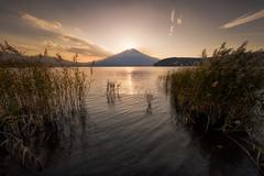 Diamond Fuji (Yuga Kurita) Tags: sunset lake japan fuji mt mount fujisan fujiyama fujigoko yamanaka yamanakako