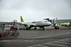 S7 Airlines A319 (Nick Aviator) Tags: airport russia moscow aviation terminal apron airbus airlines s7 a319 oneworld domodedovo avgeek