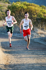 Reid (Gunn) and Henry (Paly) finishing 4th and 5th (Malcolm Slaney) Tags: championship crosscountry xc crystalsprings 2015 scval