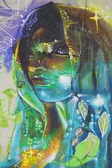 New York cITTI GrafITTI (Marco Braun) Tags: street new york woman ny color art graffiti head kunst femme colourful frau coloured manhatten farbig bunt mucho kopf