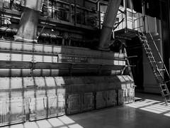 Museu da Eletricidade (only lines) Tags: portugal lisbon generators powerstation museudaeletricidade