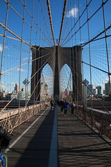 Sights around NYC (cliffordhwatson) Tags: nyc brooklyn walking fun sightseeing cables cracked converginglines