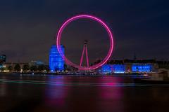 London Aye (Dave Boam) Tags: london londoneye embankment jubileebridge