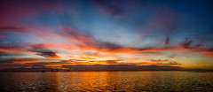 Morning Colors (Tedj1939) Tags: morning sky sun nature clouds sunrise river dawn seascapes predawn indianriver nikond7000