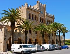 Ciutadella Police Station (picqero) Tags: heritage history architecture buildings spain mediterranean menorca