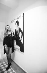 Coco Mausi 2015 (luebke_) Tags: blackandwhite girl fashion canon is cigarette posing smoking coco usm chanel ef mdchen rauchen mausi 1635mm f4l canonef1635mmf4lisusm